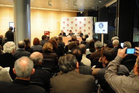 Diputació de Barcelona, 28 de gener de 2014. Barcelona. Presentació del 50è aniversari