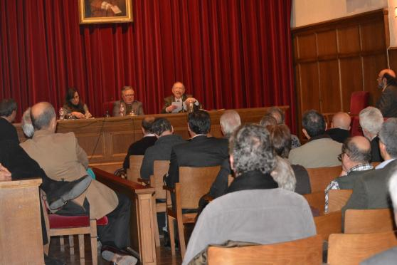 Reial Acadèmia de Bones Lletres, 13 de febrer de 2014. Barcelona