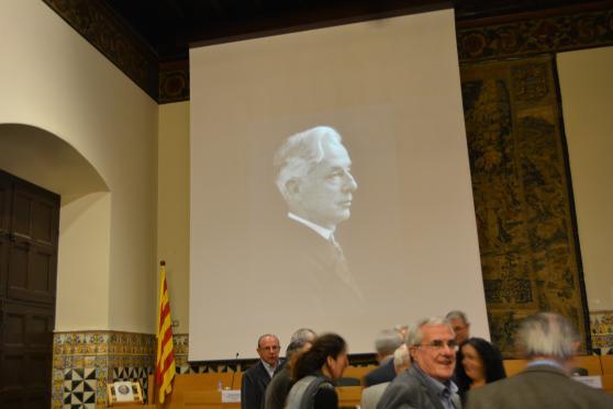 Institut d'Estudis Catalans, 20 de març de 2014. Barcelona