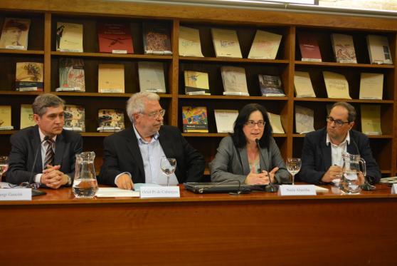 Biblioteca de Catalunya, 14 de maig de 2014. Barcelona