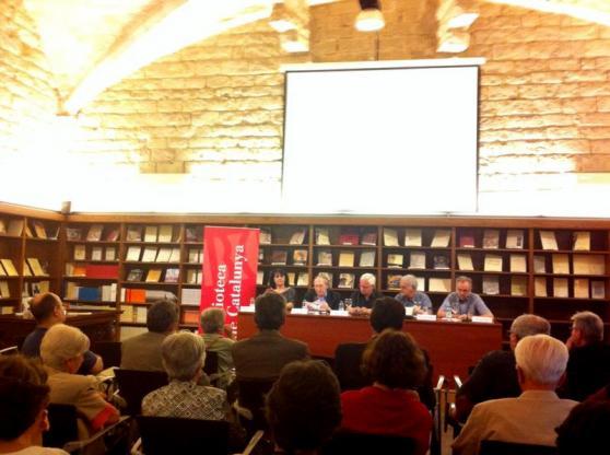 Biblioteca de Catalunya, acte del Cançoner Popular, 18 de juny de 2014. Barcelona