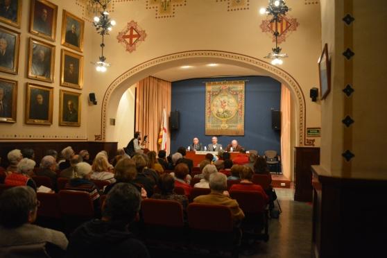 """Centre Excursionista de Catalunya. Presentació del llibre """"Els Sermons de la Medalla"""" . Barcelona, 26 de novembre de 2014"""