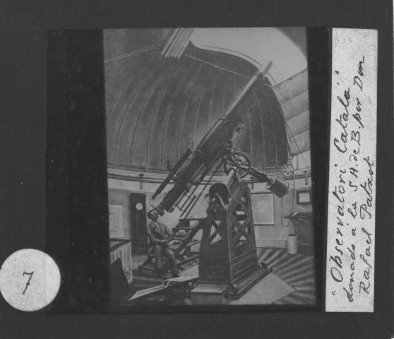 El telescopi de l'observatori