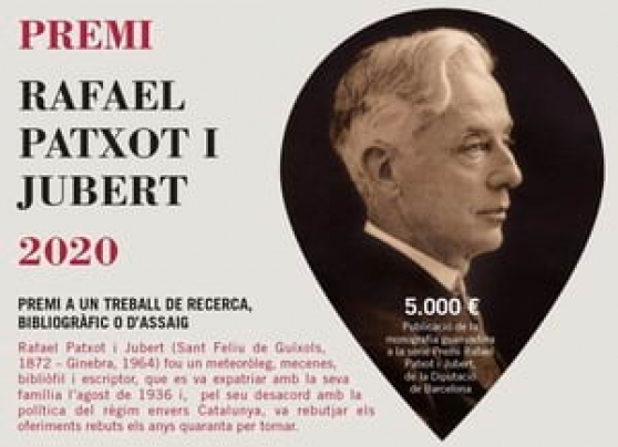 5è Premi Rafael Patxot. Autor: IEC