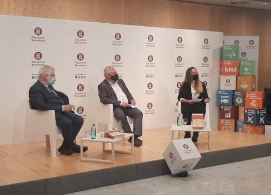 Instant de la presentació del V Premi Rafael Patxot i Jubert. Autor: XPN