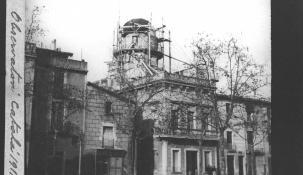 Feines de desmuntatge de l'observatori