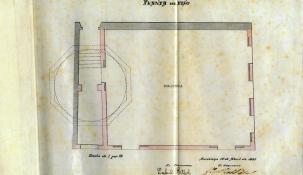 Planos de la casa Patxot (Arxiu municipal de Sant Feliu de Guíxols)